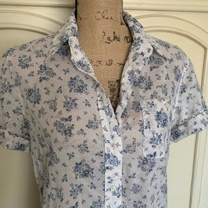 Lucky Brand Tops - Lucky Brand Floral Button Down Shirt